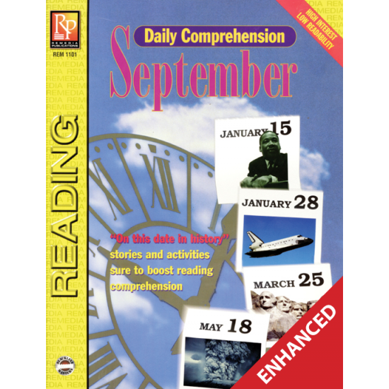 Daily Comprehension: September  Enhanced eBook