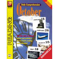 Daily Comprehension: October  Enhanced eBook