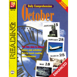 Daily Comprehension: October  Enhanced eBook