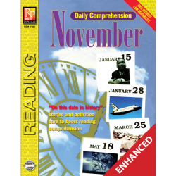 Daily Comprehension: November  Enhanced eBook