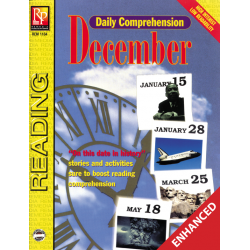 Daily Comprehension: December  Enhanced eBook