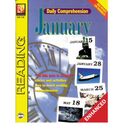 Daily Comprehension: January  Enhanced eBook
