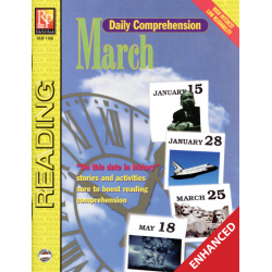 Daily Comprehension: March  Enhanced eBook