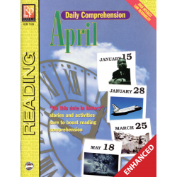 Daily Comprehension: April  Enhanced eBook