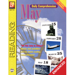 Daily Comprehension: May  Enhanced eBook
