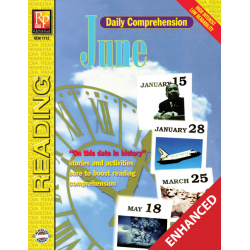Daily Comprehension: June  Enhanced eBook