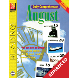 Daily Comprehension: August  Enhanced eBook