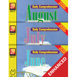 Daily Comprehension: Summer  Enhanced eBook