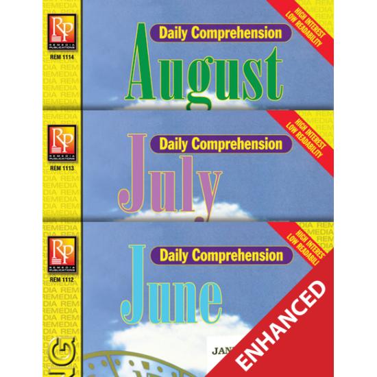 Daily Comprehension: Summer  Enhanced eBook
