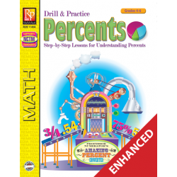 Drill and Practice: Percents  Enhanced eBook
