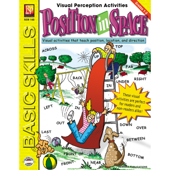 Visual Perception Activities: Position in Space   eBook