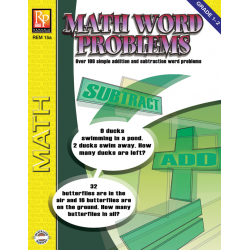 Math Word Problems (Grades 1-2) | eBook