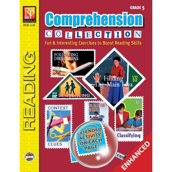Comprehension Collection Grade 5 Enhanced eBook