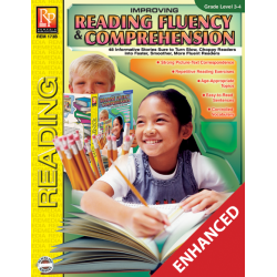 Improving Reading Fluency & Comprehension Grade 3-4 Enhanced eBook