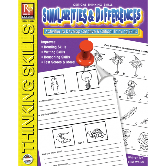 Critical Thinking Skills: Similarities & Differences   eBook