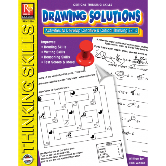 Critical Thinking Skills: Drawing Solutions   eBook