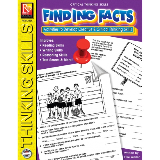 Critical Thinking Skills: Finding Facts | eBook