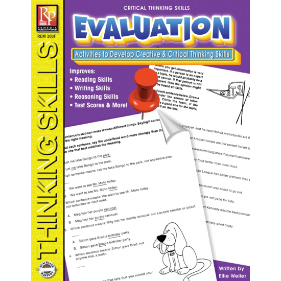 Critical Thinking Skills: Evaluation   eBook