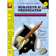Skill Booster Series: Subjects & Predicates | eBook