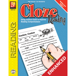 Cloze Reading Level 3 Enhanced eBook