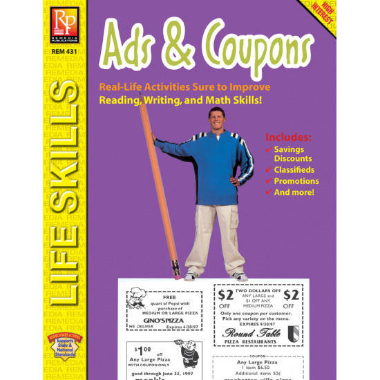 PRACTICAL PRACTICE READING: ADS & COUPONS (EBOOK)
