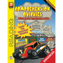 Comprehension Quickies Reading Level 1 Enhanced eBook