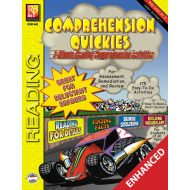 COMPREHENSION QUICKIES - READING LEVEL 2 (ENHANCED EBOOK)
