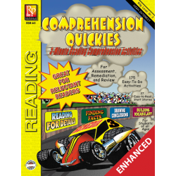 Comprehension Quickies - Reading Level 3 (Enhanced eBook)