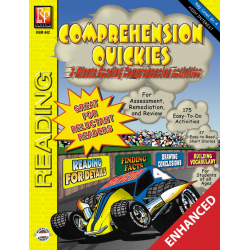 Comprehension Quickies - Reading Level 4 (Enhanced eBook)