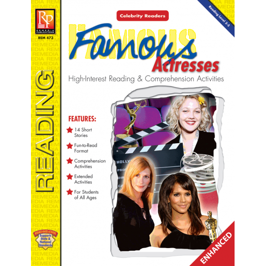 Celebrity Readers: Famous Actresses  Enhanced eBook