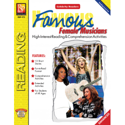 Celebrity Readers: Famous Female Musicians  Enhanced eBook