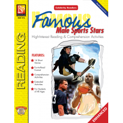 Celebrity Readers: Famous Male Sports Stars  Enhanced eBook