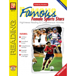 Celebrity Readers: Famous Female Sports Stars  Enhanced eBook