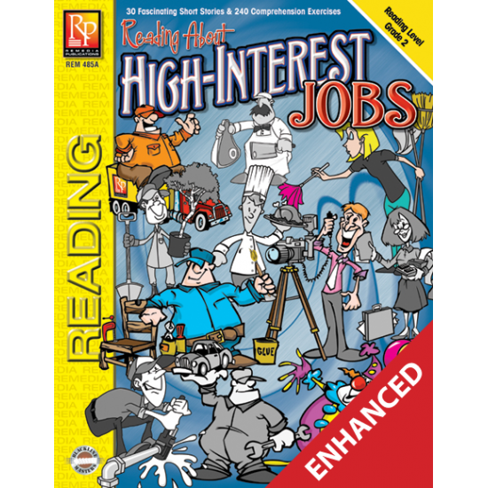 Reading About High-Interest Jobs  Level 2  Enhanced eBook