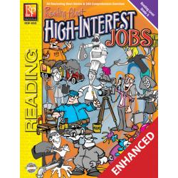 Reading About High-Interest Jobs  Level 5  Enhanced eBook