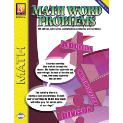 Math Word Problems (Grades 4-5) | eBook