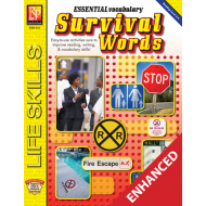 Essential Vocabulary: Survival Words  Enhanced eBook