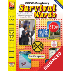 Essential Vocabulary: Survival Words  Enhanced eBook