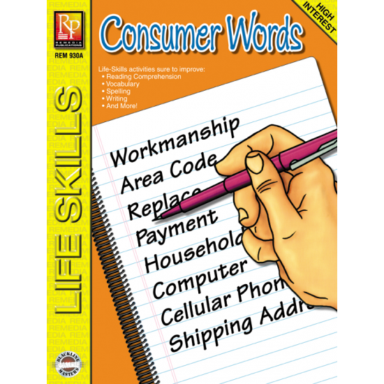 Life-Skill Lessons: Consumer Words   eBook