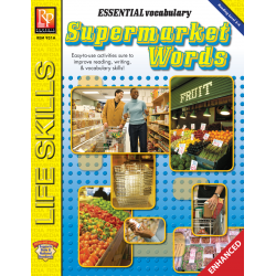 Essential Vocabulary: Supermarket Words  Enhanced eBook