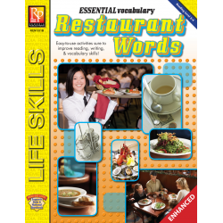 Essential Vocabulary: Restaurant Words  Enhanced eBook