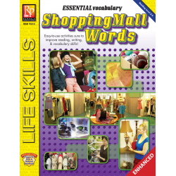 Essential Vocabulary: Shopping Mall Words  Enhanced eBook