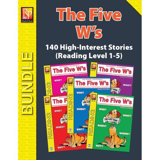 THE FIVE W'S (BUNDLE)