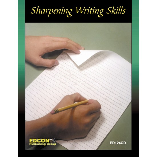 Sharpening Writing Skills Lesson 2, Learning About Verbs