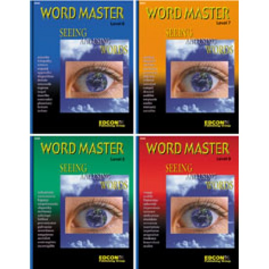All 4 Levels 6-9 All 4 Word Master Workbooks