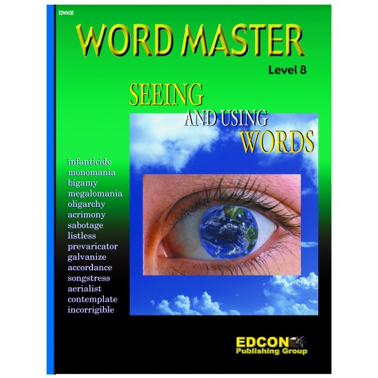 Word Master Level 8 Printed Book